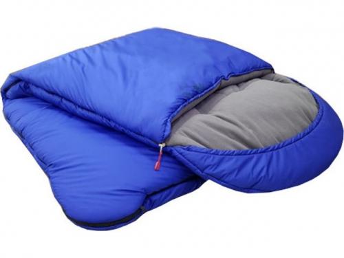 Спальный мешок-одеяло с подголовником, меринос
