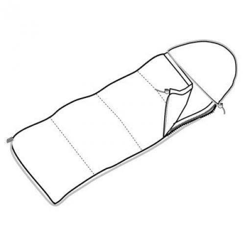 Спальный мешок-одеяло широкий с подголовником, камуфляж
