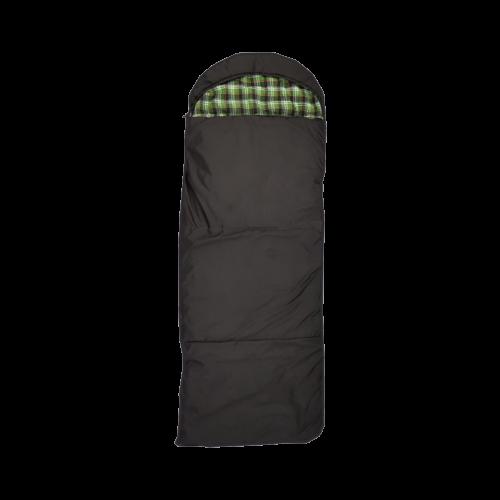 Спальный мешок-одеяло с подголовником, широкий,верблюд, фланель