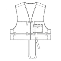 Страховочный жилет Шкипер-100, двухсторонний