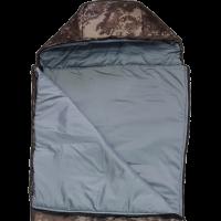 Спальный мешок-одеяло с капюшоном, камуфляж