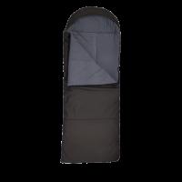Спальный мешок-одеяло с подголовником, широкий,верблюд, флис